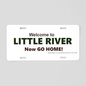 Little River Aluminum License Plate