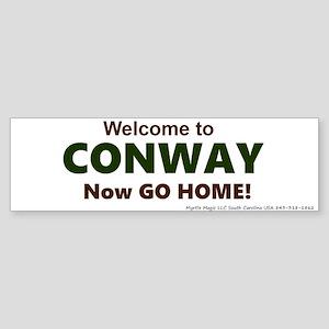 Conway Sticker (Bumper)