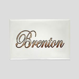 Gold Brenton Magnets