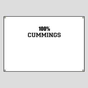 100% CUMMINGS Banner