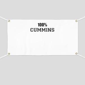 100% CUMMINS Banner