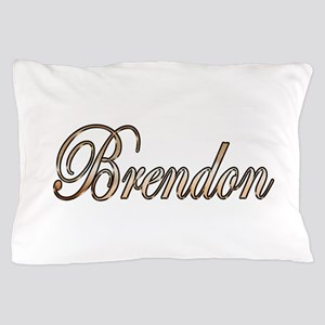 Gold Brendon Pillow Case