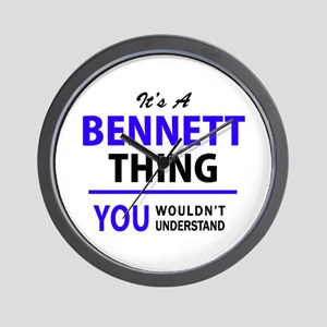 BENNETT thing, you wouldn't understand! Wall Clock