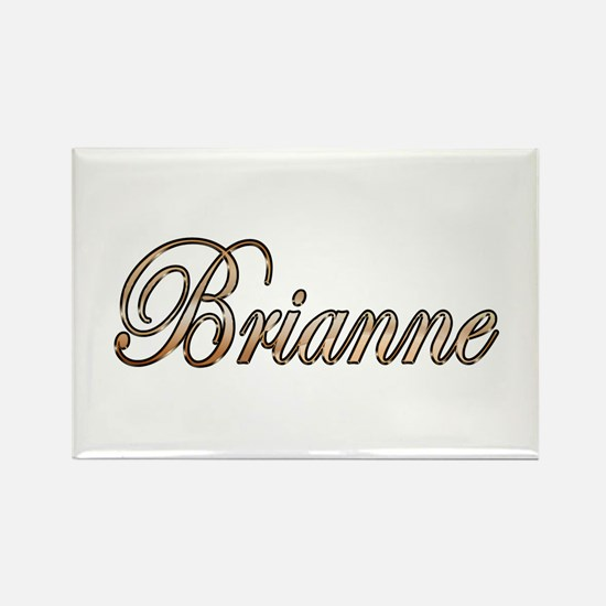 Gold Brianne Magnets