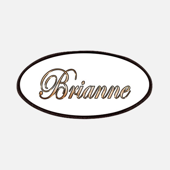 Gold Brianne Patch