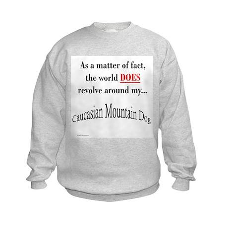 Caucasian World1 Kids Sweatshirt