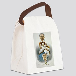 father Canvas Lunch Bag