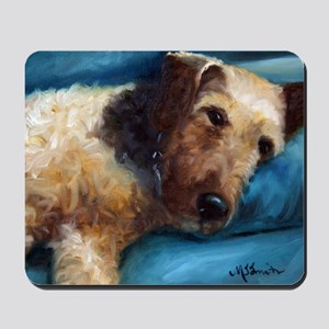Airedale Terrier DOG Mousepad