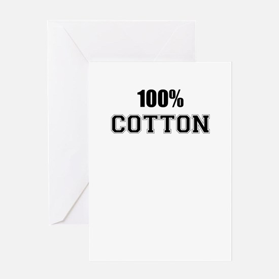 100% COTTON Greeting Cards