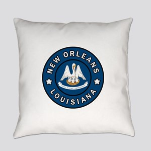 New Orleans Louisiana Everyday Pillow