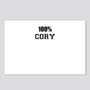 100% CORY Postcards (Package of 8)