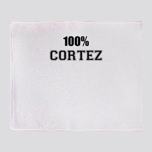 100% CORTEZ Throw Blanket