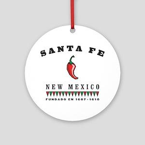 Santa Fe Pepper Ornament (Round)