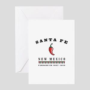Santa Fe Pepper Greeting Card