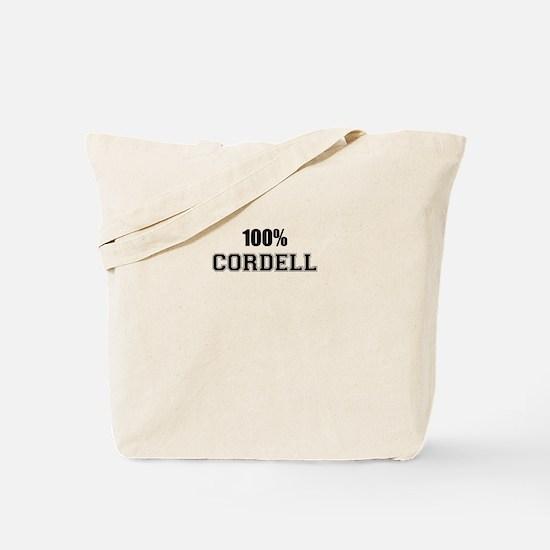 100% CORDELL Tote Bag