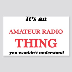 It's an Amateur Radio thing, you would Sticker