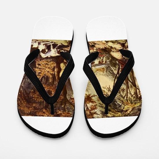 hunting Flip Flops