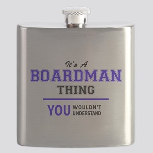 BOARDMAN thing, you wouldn't understand! Flask