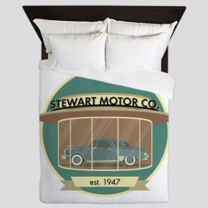 Stewart Motor Company Phoenix 1947 Queen Duvet