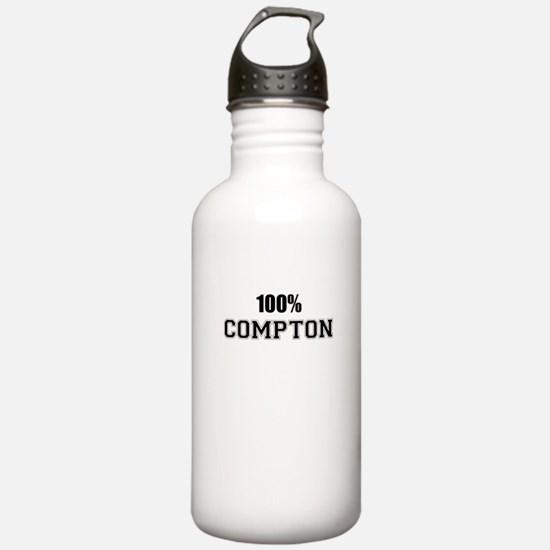 100% COMPTON Water Bottle