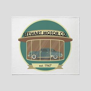 Stewart Motor Company Phoenix 1947 Throw Blanket