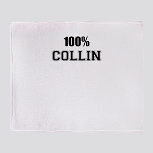 100% COLLIN Throw Blanket