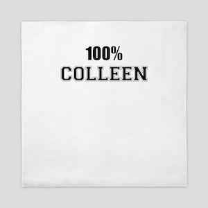 100% COLLEEN Queen Duvet