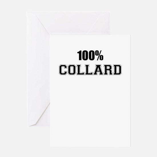 100% COLLARD Greeting Cards