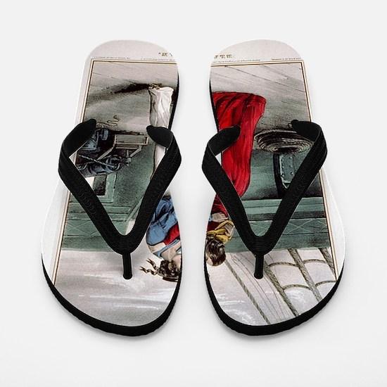 sailor Flip Flops