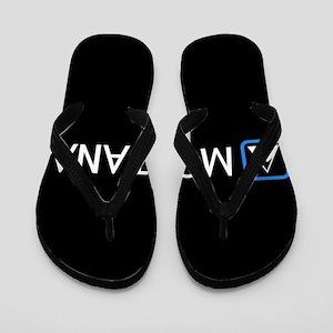 Montana Rocky Mountains Flip Flops