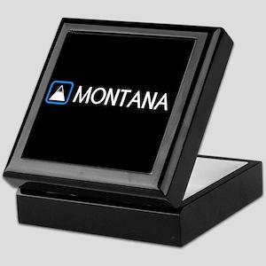 Montana Rocky Mountains Keepsake Box