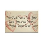 The Best Time To Tell Your Spouse - Magnets