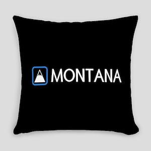 Montana Rocky Mountains Everyday Pillow