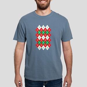 Christmas Argyle Design T-Shirt