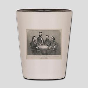 lincoln grant Shot Glass