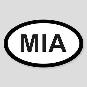 Miami Oval Sticker