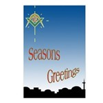 Masonic Seasons Greetings Postcards (Package of 8)