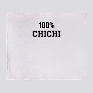 100% CHICHI Throw Blanket