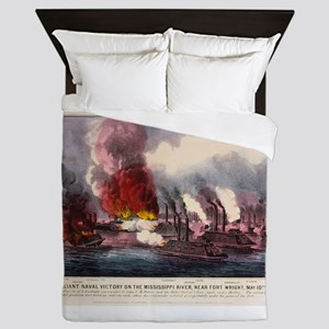 fort wright Queen Duvet