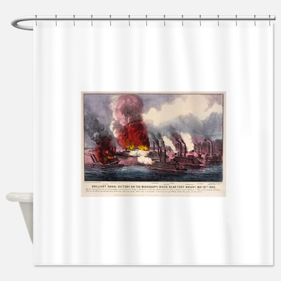 fort wright Shower Curtain