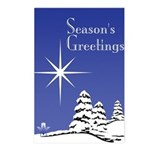 Masonic Star Holiday Postcards (Package of 8)