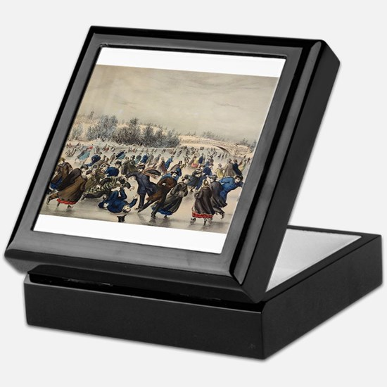 central park Keepsake Box