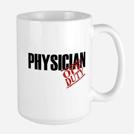 Off Duty Physician Stainless Steel Travel Mugs