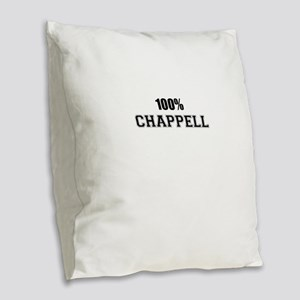 100% CHAPPELL Burlap Throw Pillow