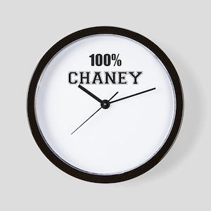 100% CHANEY Wall Clock