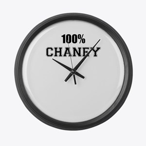100% CHANEY Large Wall Clock