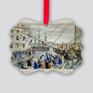 currier ives 19th century illustration Ornament