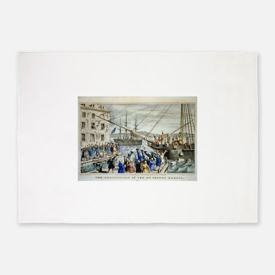 currier ives 19th century illustration 5'x7'Area R