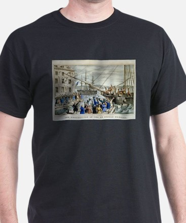 currier ives 19th century illustration T-Shirt