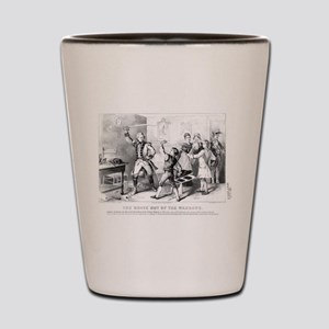 andrew jackson as a boy Shot Glass